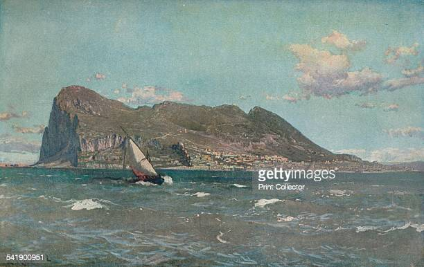 'Gibraltar' c19031904 From The Studio Volume 30 [The Offices of the Studio Ltd London 19031904]Artist Laurits Bernhard Holst