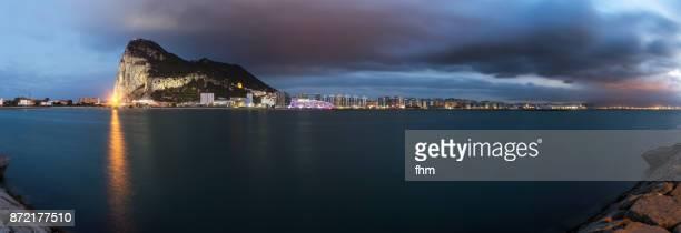 Gibraltar - city and Upper Rock - Gibraltar/ UK