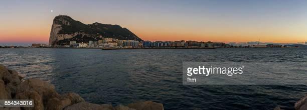Gibraltar sunset (Panorama) - Gibraltar/ UK