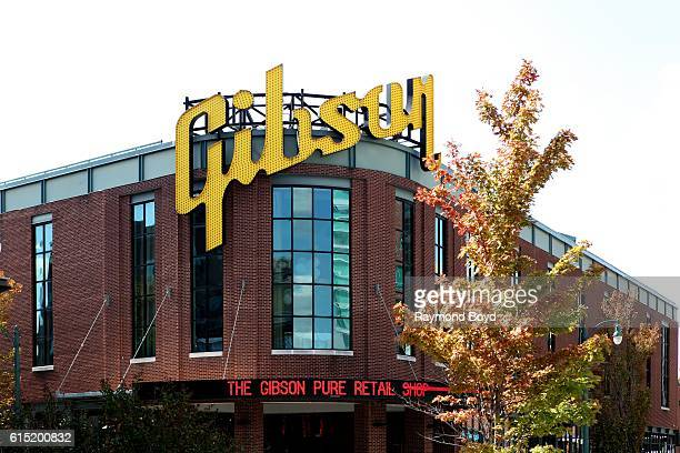 Gibson Guitar Factory in Memphis Tennessee on October 3 2016