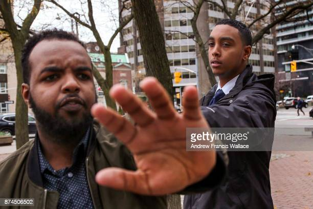 PHOTOGRAPHER Gideon Fekre outside 361 University Ave court November 14 2017 Fekre is on trial for killing pedestrian Kristy Hodgson after the car...