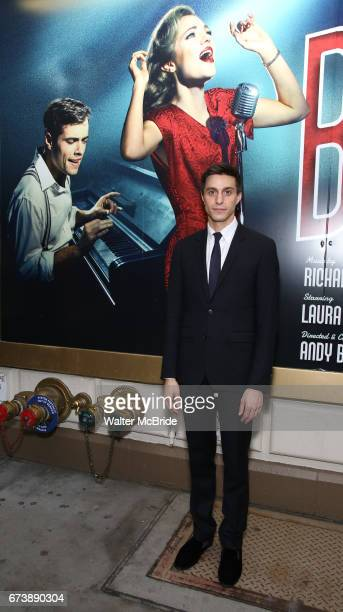 Gideon Glick attends the Broadway Opening Night performance of 'Bandstand' at the Bernard B Jacobs Theatre on 4/26/2017 in New York City
