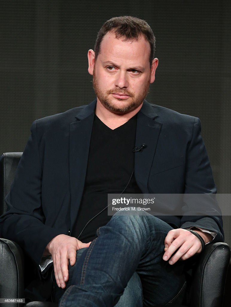 Gideon Raff, Executive Producer/Creator of the television show 'Tyrant' speaks onstage during the FX portion of the 2014 Television Critics Association Press Tour at the Langham Hotel on January 14, 2014 in Pasadena, California.