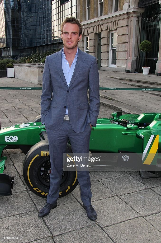 <a gi-track='captionPersonalityLinkClicked' href=/galleries/search?phrase=Giedo+Van+Der+Garde&family=editorial&specificpeople=4137991 ng-click='$event.stopPropagation()'>Giedo Van Der Garde</a> attends the F1 Party in aid of great ormond street hospital childrens charity at Old Billingsgate Market on June 26, 2013 in London, England.