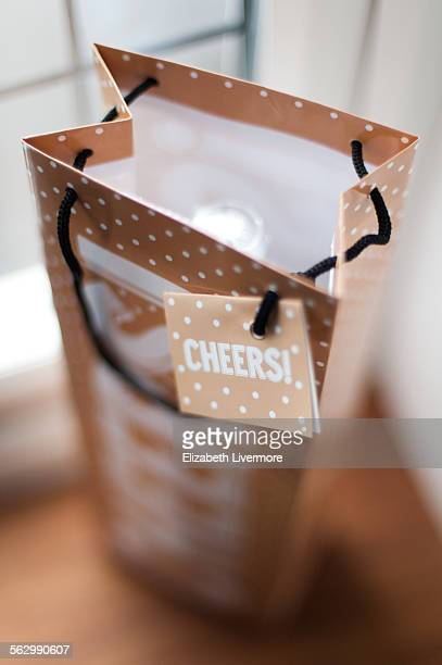 Gift bag of wine