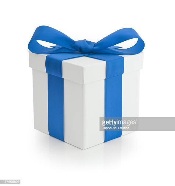 Gift - Blue Ribbon