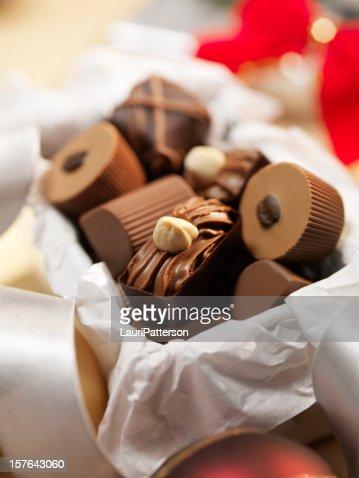 Gift Box of Chocolate Truffles