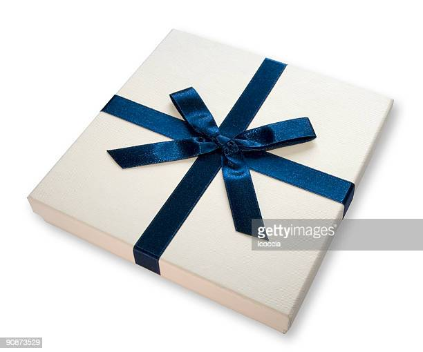 Gift box (BLUE BOW)