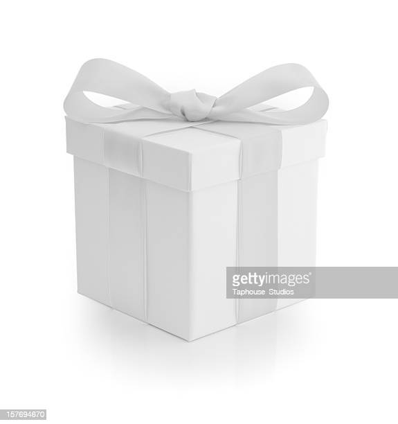 Gift Box - White Ribbon