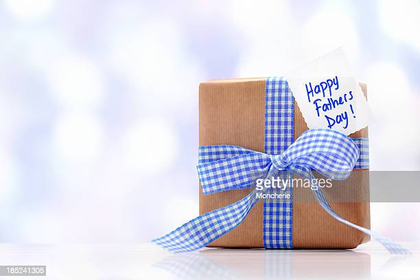 Gift box with a fathers day card