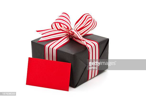 gift box with greeting card