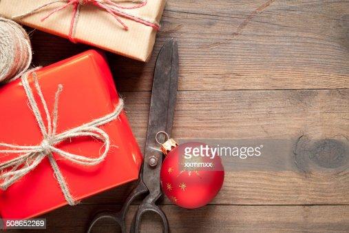 Gift boxes : Stock Photo