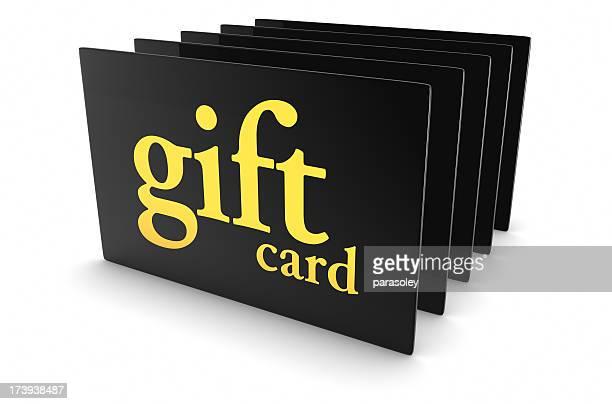 Carte cadeau noire