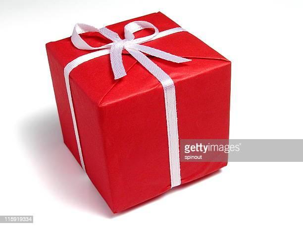 Geschenk auf Weiß 1