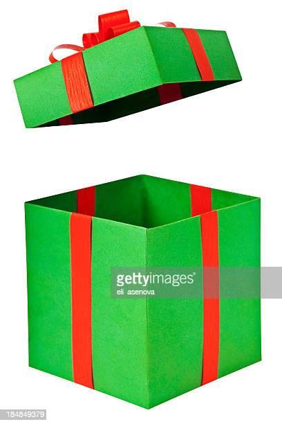 Geschenk auffälligen geöffnet