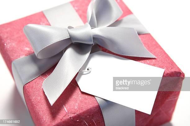 Étiquette à cadeau