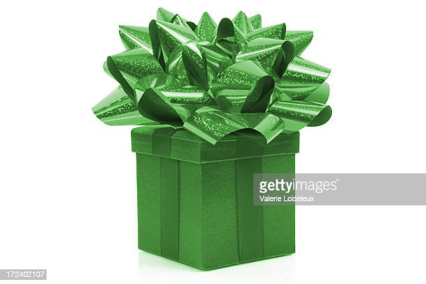 Gift with big bow