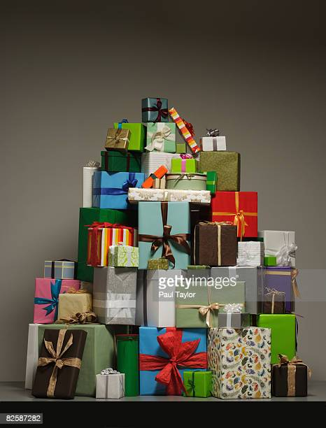Gifts in pile