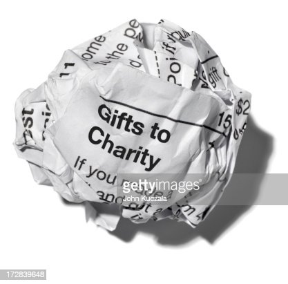Gifts to Charity : Stock Photo