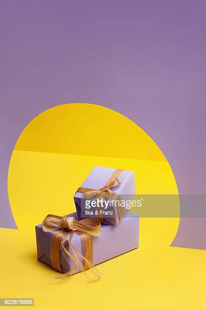 Gifts with Hair Ribbon