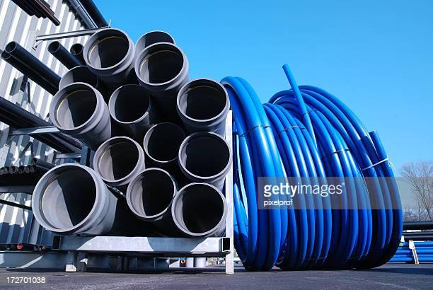 Bottier de tuyaux de PVC dur ware magasin