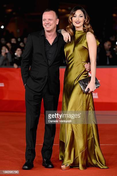 Gigi d'Alessio and Anna Tatangelo attend the 'E La Chiamano Estate' Premiere during the 7th Rome Film Festival at the Auditorium Parco Della Musica...