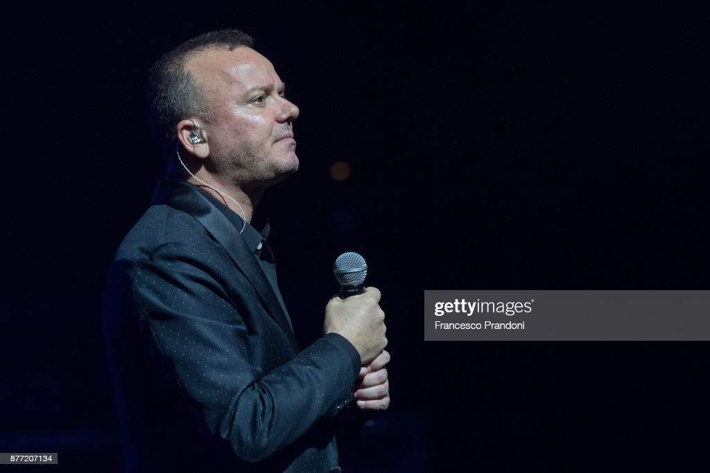 Gigi D'Alessio Performs In Milan