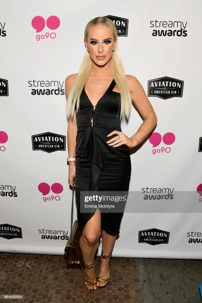 Gigi Gorgeous at go90 + Streamys After Party at Poppy on September 26, 2017 in Los Angeles, California.