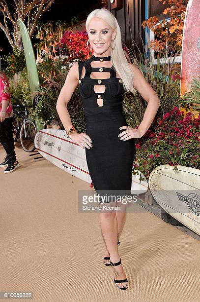 Gigi Gorgeous attends 14th Annual Teen Vogue Young Hollywood with American Eagle Outfitters on September 23 2016 in Malibu California