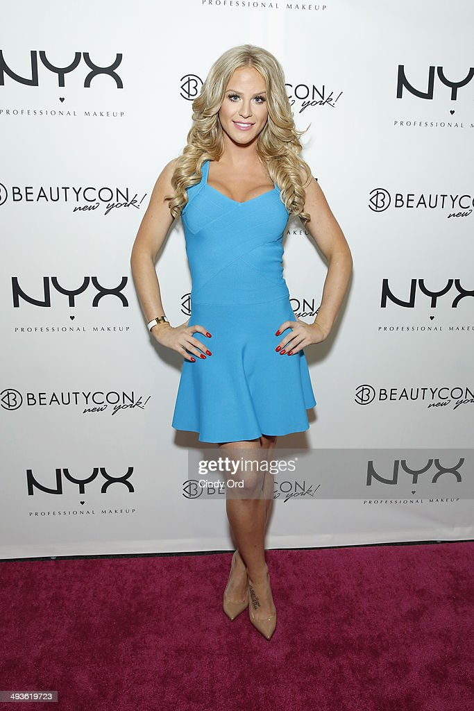 Gigi Gorgeous attends NYX Cosmetics Talent Lounge At BeautyConNYC at Pier 36 on May 24, 2014 in New York City.