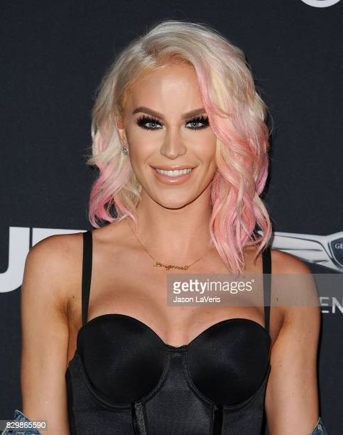 Gigi Gorgeous attends OUT Magazine's inaugural POWER 50 gala and awards presentation at Goya Studios on August 10 2017 in Los Angeles California