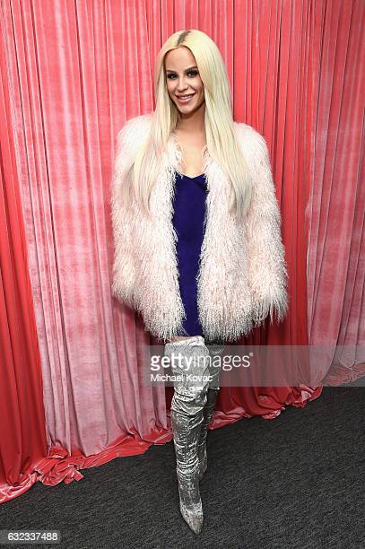 Gigi Gorgeous attends Park City Live Presents The Hub Featuring The Marie Claire Studio and the 4K ULTRA HD Showcase Brought to You by the Consumer...