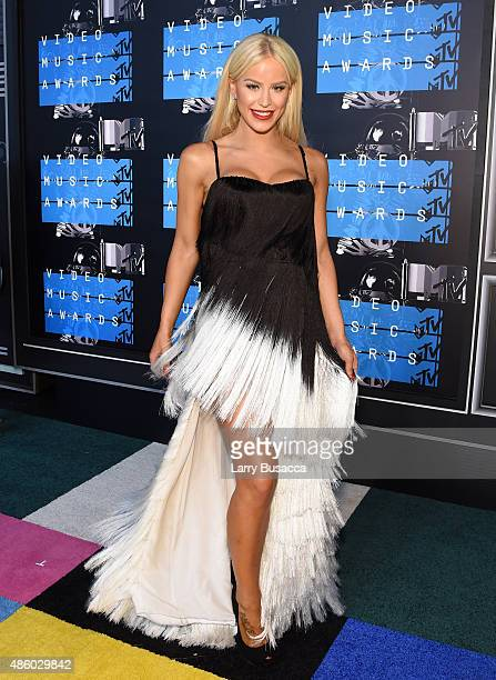 Gigi Gorgeous attends the 2015 MTV Video Music Awards at Microsoft Theater on August 30 2015 in Los Angeles California