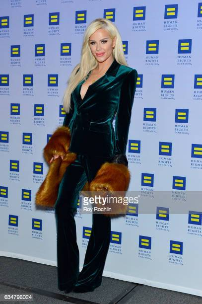 Gigi Gorgeous attends the 2017 Human Rights Campaign Greater New York Gala at Waldorf Astoria Hotel on February 11 2017 in New York City