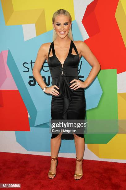 Gigi Gorgeous attends the 7th Annual 2017 Streamy Awards at The Beverly Hilton Hotel on September 26 2017 in Beverly Hills California