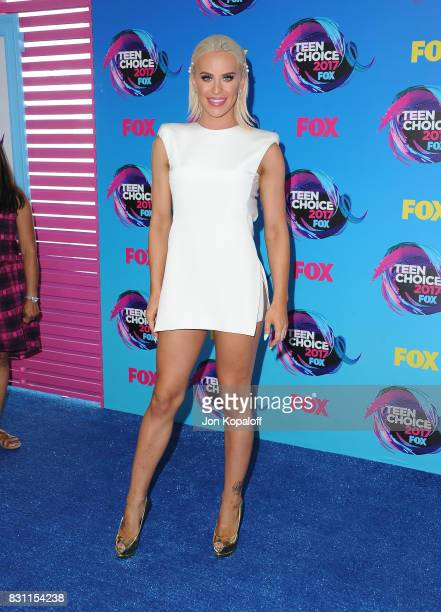 Gigi Gorgeous attends the Teen Choice Awards 2017 at Galen Center on August 13 2017 in Los Angeles California