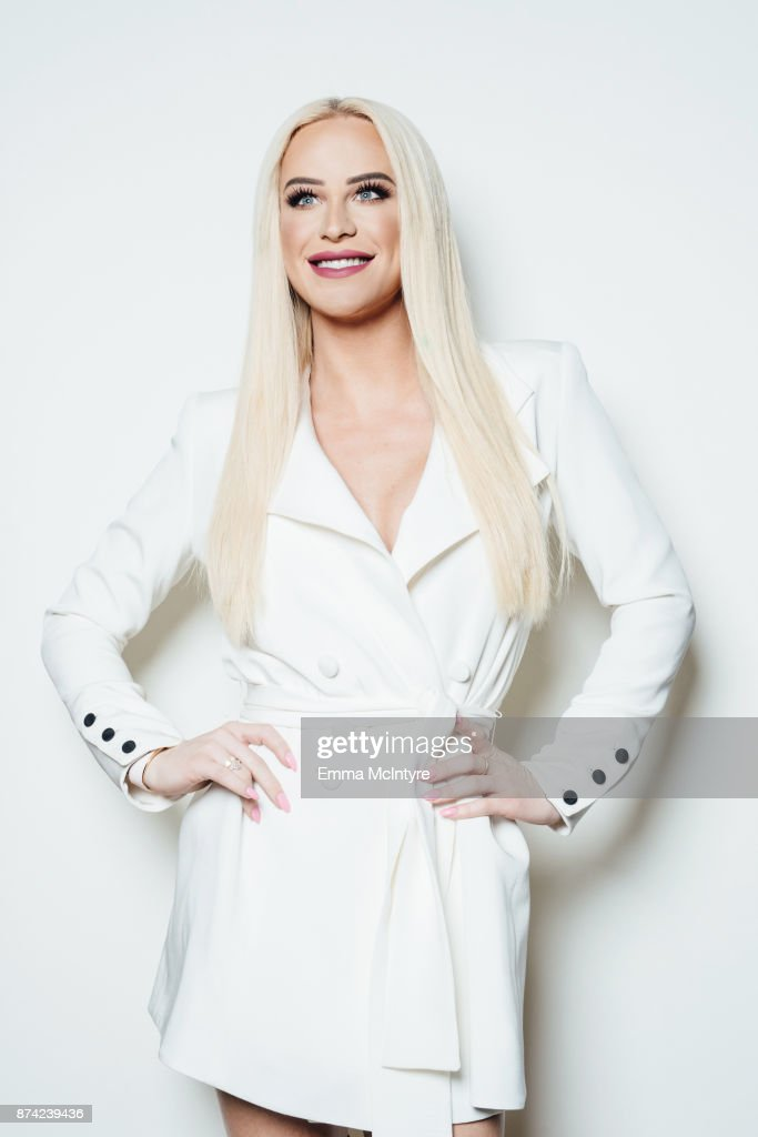 Gigi Gorgeous poses for a portrait at the Wrap offices on November 14, 2017 in Los Angeles, California.