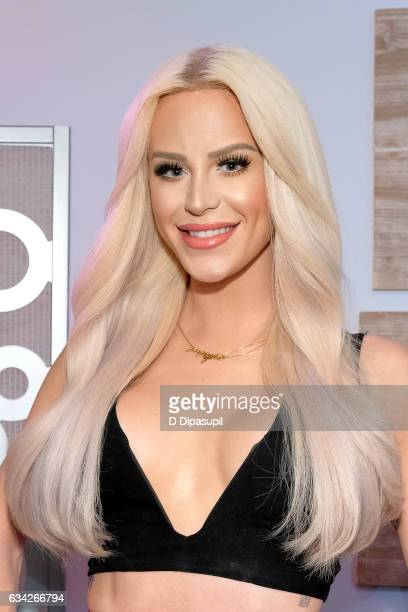 Gigi Gorgeous visits 'Extra' on February 8 2017 in New York City