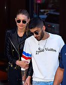 Gigi Hadid and boyfriend Zayn Malik seen out in NoHo on June 10 2016 in New York City