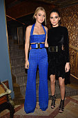 Gigi Hadid and Kendall Jenner attend the Balmain Aftershow Dinner as part of the Paris Fashion Week Womenswear Fall/Winter 2015/2016 on March 5 2015...