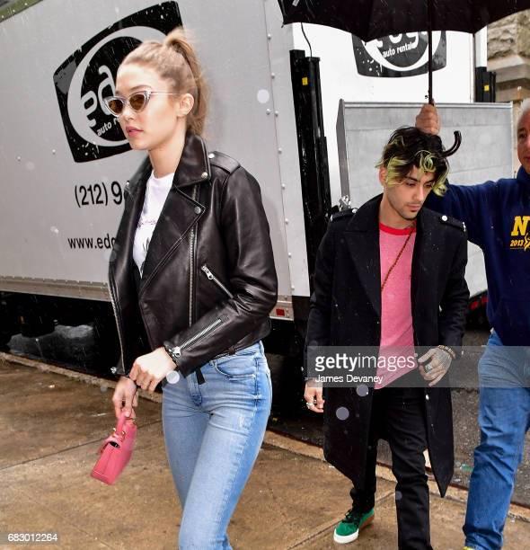 Gigi Hadid and Zayn Malik seen on the streets of Brooklyn on May 13 2017 in New York City