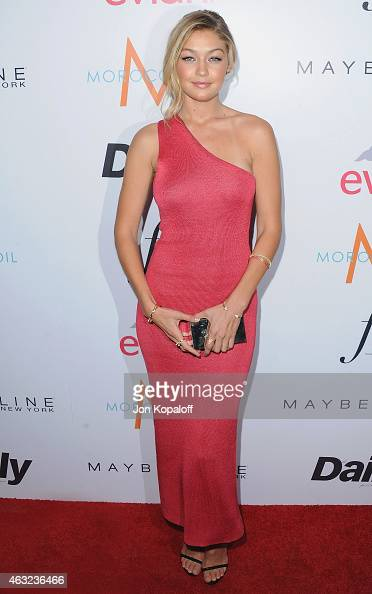 Gigi Hadid arrives at The Daily Front Row's 1st Annual Fashion Los Angeles Awards at Sunset Tower Hotel on January 22 2015 in West Hollywood...