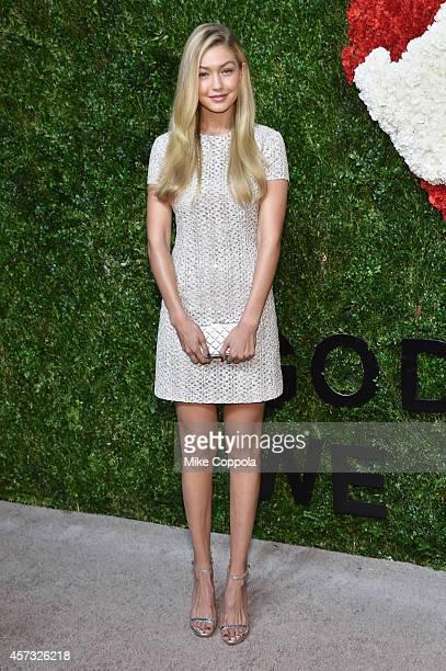 Gigi Hadid attends God's Love We Deliver Golden Heart Awards on October 16 2014 in New York City