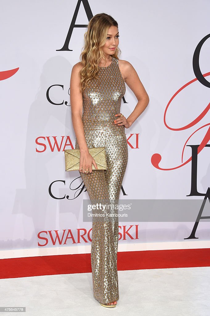 Gigi Hadid attends the 2015 CFDA Fashion Awards at Alice Tully Hall at Lincoln Center on June 1 2015 in New York City