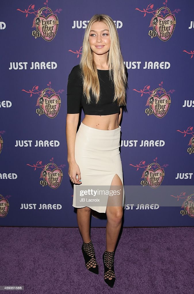 Gigi Hadid attends the Just Jared's Homecoming Dance at the El Rey Theater on November 20, 2014 in Los Angeles, California.