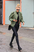 Gigi Hadid is seen on December 22 2015 in Los Angeles California