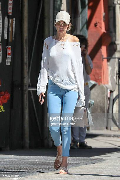 Gigi Hadid is seen on July 24 2016 in New York City