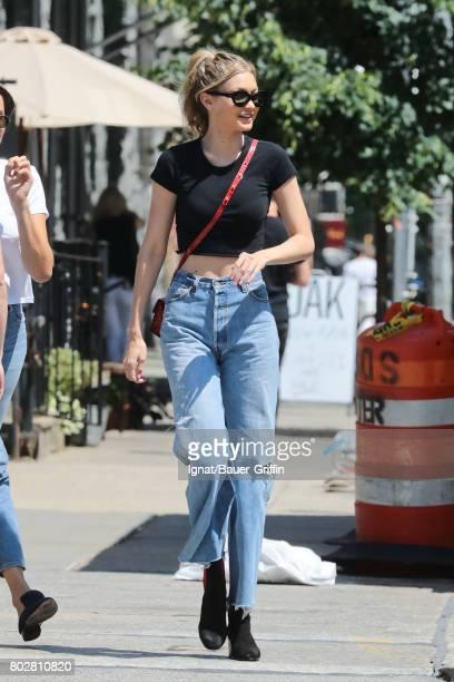 Gigi Hadid is seen on June 28 2017 in New York City