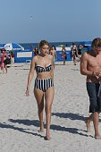 Gigi Hadid is seen on March 15 2015 in Miami Florida
