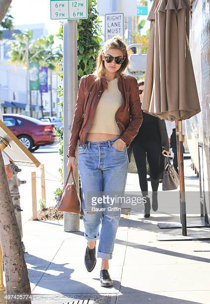 Gigi Hadid is seen on November 16 2015 in Los Angeles California